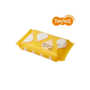 (まとめ)TANOSEE ノンアルコール除菌ウェットティッシュ 大判・厚手 20枚入×30パック