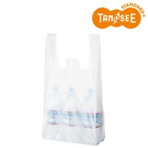 (まとめ)乳白レジ袋 No35 100枚入×10 - 拡大画像