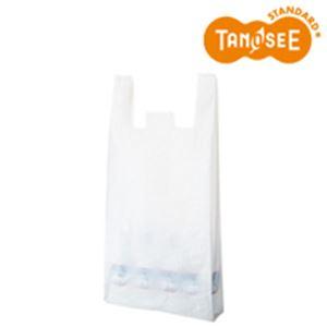 (まとめ)乳白レジ袋 No80 100枚入×10 - 拡大画像