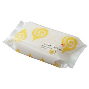 (まとめ) TANOSEE 流せるトイレクリーナー レギュラータイプ グレープフルーツの香り パック入 1パック(30枚) 【×20セット】 - 拡大画像