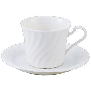 (まとめ) いちがま ニューボーン コーヒー碗皿 1セット(6客) 【×2セット】 - 拡大画像