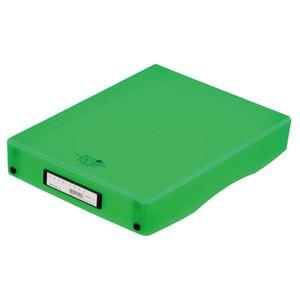 (まとめ) リヒトラブ デスクトレー A4 黄緑 A-5040-6 1個 【×10セット】