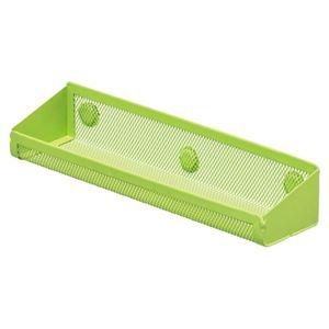 (まとめ) リヒトラブ マグネットポケット トレー 黄緑 A-7385-6 1個 【×10セット】
