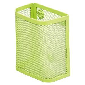 (まとめ) リヒトラブ マグネットポケット ペンスタンド 黄緑 A-7390-6 1個 【×10セット】