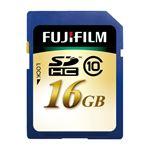 (まとめ) 富士フィルム FUJI SDHCカード 16GB Class10 SDHC-016G-C10 1枚 【×2セット】