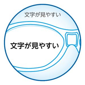 (まとめ) 日進医療器 文字が見やすいルーペメガネタイプ 1個 【×2セット】
