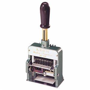 ライオン事務器 ダンボール用ナンバリング8桁3様式 M32-8 1台