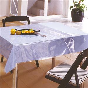 (まとめ) 明和グラビア 透明テーブルカバー1200×1500mm 厚さ0.45mm KMGK-4515 1枚 【×2セット】