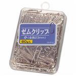 (まとめ) ライオン事務器 ゼムクリップ 小23mm 60g CS-P12 1箱 【×30セット】