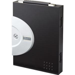 (まとめ) カール事務器 キーボックス 16個吊ブラック CKB-16-K 1個 【×3セット】