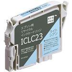 (まとめ)エコリカ リサイクルインクカートリッジ[エプソン:ICLC23互換] ECI-E23LC 1個 【×5セット】