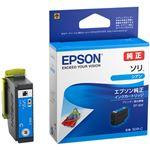 (まとめ)エプソン インクカートリッジ ソリシアン SOR-C 1個 【×5セット】