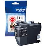 (まとめ)ブラザー インクカートリッジ ブラックLC3111BK 1個 【×5セット】