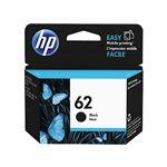 (まとめ)HP HP62 インクカートリッジ 黒C2P04AA 1個 【×3セット】