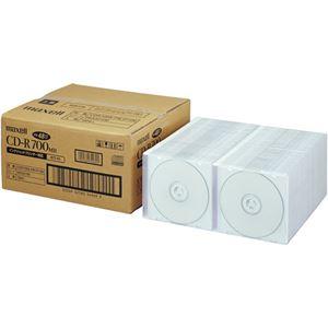 マクセル データ用CD-R 700MBホワイトプリンタブル 5mmスリムケース CDR700S.PW1P100 1箱(100枚)