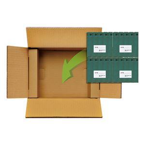 富士フイルム LTO Ultrium4データカートリッジ エコパック 800GB LTO FB UL-4 800G ECO J 1箱(20巻) - 拡大画像