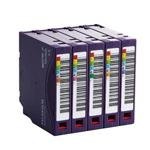 富士フイルム LTO Ultrium7データカートリッジ バーコードラベル(縦型)付 6.0TB LTO FB UL-7 OREDPX5T1パック(5巻) - 拡大画像