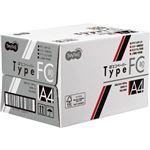 (まとめ)TANOSEE αエコペーパータイプFC A4 標準 80g 1セット(2000枚:250枚×8冊) 【×2セット】