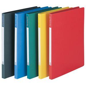 (まとめ)ビュートン レターファイル A4タテ110枚収容 背幅18mm ブルー SLF-A4S-B 1冊 【×30セット】