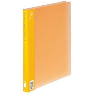 (まとめ)ライオン事務器PPレターファイル(エール) A4タテ 120枚収容 背幅18mm オレンジ LF-363A-D 1冊 【×20セット】