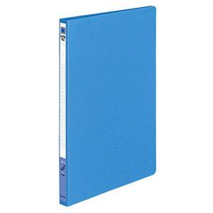 (まとめ)コクヨ レターファイル(色厚板紙)B5タテ 120枚収容 背幅20mm 青 フ-551B 1セット(10冊) 【×2セット】