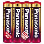 (まとめ)パナソニック アルカリ乾電池 単4形LR03XJ/4SE 1パック(4本)【×10セット】