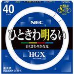 NEC 蛍光ランプ ライフルックHGX環形スタータ形 40W形 3波長形 昼光色 業務用パック FCL40EX-D/38-X 1パック(5個)