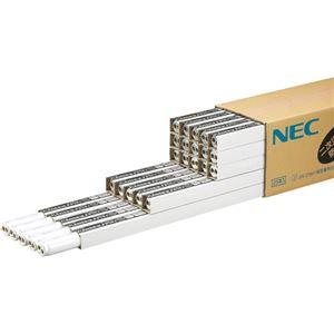 NEC 防災用残光蛍光ランプ飛散防止タイプ 直管ラピッドスタート形 40W形 白色 FLR40SW/M.Pボウサイ 1パック(25本) - 拡大画像