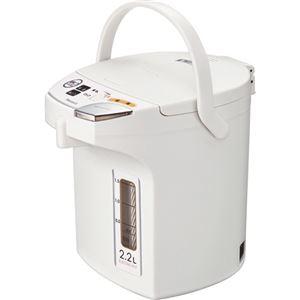 ピーコック 電動給湯ポット 2.2Lホワイト WMJ-22W 1台