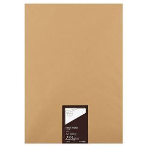 コクヨ 高級ケント紙 233g/m2A2カット セ-KP37 1冊(100枚) - 拡大画像