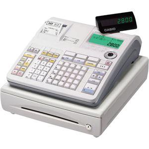 カシオ 電子レジスター ホワイトTE-2800-25S 1台