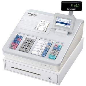 シャープ 電子レジスタ ホワイトXE-A207W-W 1台