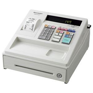 シャープ 電子レジスタ ホワイトXE-A147-W 1台