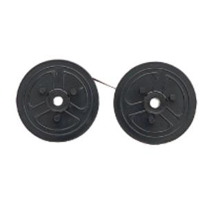 (まとめ)カシオ 電子レジスター用 インクリボン黒 240ER専用 RAP-01B 1個【×10セット】 - 拡大画像
