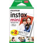 (まとめ)富士フイルム チェキ用フィルムインスタントカラーフィルム instax mini 1箱(20枚:10枚×2パック)【×3セット】