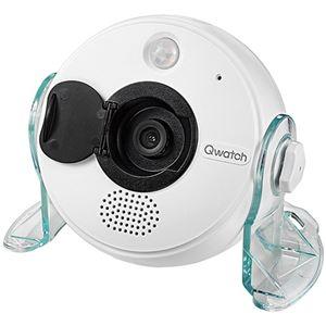 アイオーデータ 高画質無線LAN対応ネットワークカメラ「Qwatch(クウォッチ)」 TS-WRLP 1台 - 拡大画像