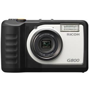 リコー 防水・防塵・業務用デジタルカメラG800 安心保証モデル 162053 1台 - 拡大画像