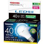 (まとめ)東芝ライテック LED電球ミニクリプトン形 40W形相当 3.9W E17 昼白色 LDA4N-G-E17/S/40W 1個【×3セット】