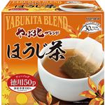 ハラダ製茶 やぶ北ブレンド徳用ほうじ茶ティーバッグ 1セット(600バッグ:50バッグ×12箱)