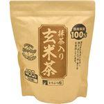 ますぶち園 オキロン 三角ティーバッグ抹茶入玄米茶 4g 1セット(500バッグ:100バッグ×5袋)