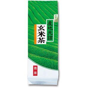 前田園 お徳用抹茶入り玄米茶 1kg/袋 1セット(3袋) - 拡大画像