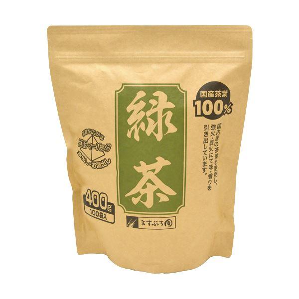 ますぶち園 オキロン 三角ティーバッグ緑茶 4g 1セット(500バッグ:100バッグ×5袋)
