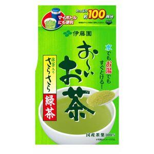 伊藤園 おーいお茶 さらさら抹茶入り緑茶80g/パック 1セット(6パック) - 拡大画像