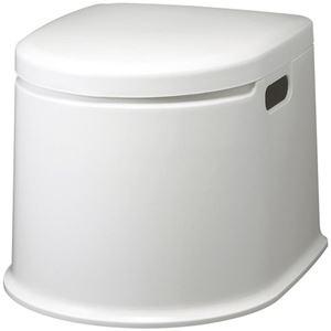 山崎産業 ポータブルトイレP型PT-P11 1台 - 拡大画像