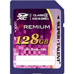 スーパータレントUHS-I対応SDXCメモリーカード CLASS10 128GB ST28SU1P 1枚