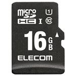 エレコム ドラレコ/カーナビ向け車載用microSDHCメモリカード 16GB MF-CAMR016GU11A 1枚