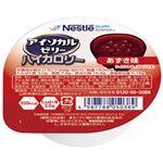 ネスレ アイソカルゼリーハイカロリーあずき味 66g 1セット(24個)