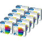 バーベイタム データ用CD-RW700MB ブランドシルバー 5mmスリムケース SW80QU10V1C 1箱(100枚:10枚×10個)