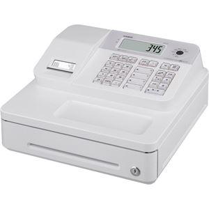 カシオ Bluetoothレジスターホワイト SR-G3-WE 1台 - 拡大画像