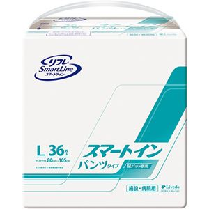 リブドゥコーポレーション リフレスマートイン パンツタイプ L 1セット(144枚:36枚×4パック) - 拡大画像